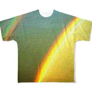 レインボー フルグラフィックTシャツ