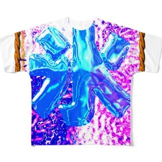 氷屋 フルグラフィックTシャツ