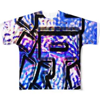 涼 フルグラフィックTシャツ