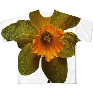 水仙 フルグラフィックTシャツ