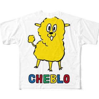 きいろいの フルグラフィックTシャツ