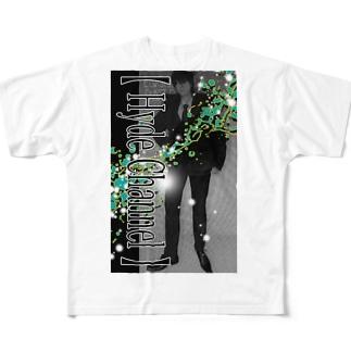 【舎弟運UP !】Green-Hyde フルグラフィックTシャツ