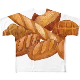 春のパン祭り フルグラフィックTシャツ