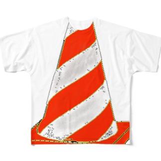 赤いパイロン Full graphic T-shirts