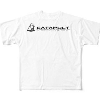 CATAPULT FACTORY Full graphic T-shirts