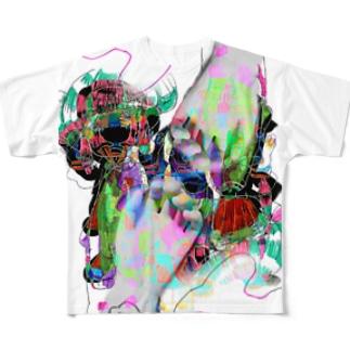 絶望 Full graphic T-shirts