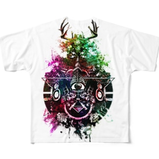 鋼_核 Full graphic T-shirts