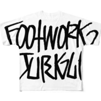 Footwork Jungle フルグラフィックTシャツ