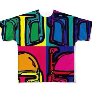 ボブフット#6 フルグラフィックTシャツ