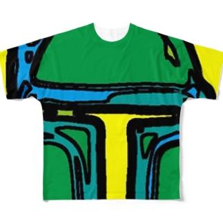 ボブフット#8 フルグラフィックTシャツ