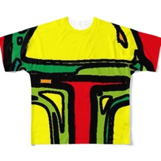 ボブフット#9 フルグラフィックTシャツ