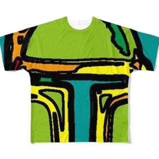 ボブフット#10 フルグラフィックTシャツ