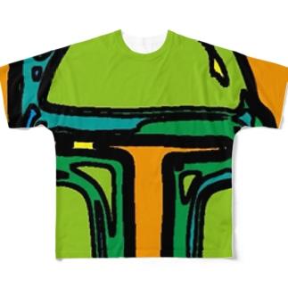 ボブフット#11 フルグラフィックTシャツ