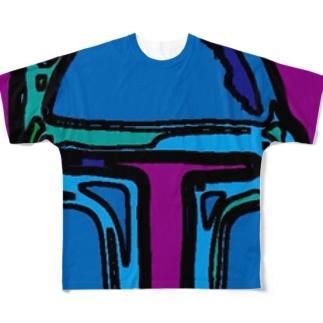 ボブフット#13 フルグラフィックTシャツ