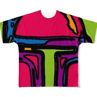 ボブフット#14 フルグラフィックTシャツ