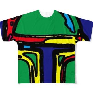 ボブフット#15 フルグラフィックTシャツ