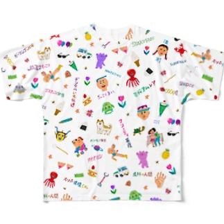 わんぱくMIX フルグラフィックTシャツ
