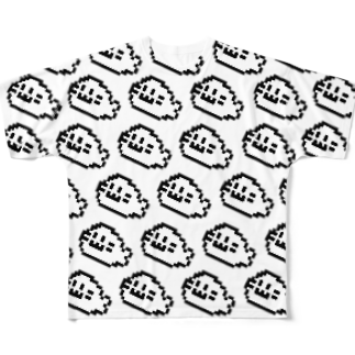 イソ(ベ)マスヲのあらざし大漁 フルグラフィックTシャツ