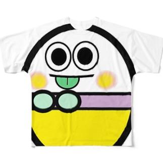 エッグエイリアン フルグラフィックTシャツ
