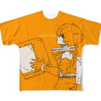孤独のオレンジ Full graphic T-shirts
