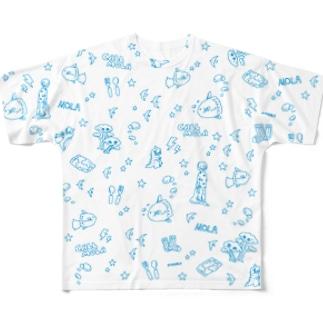 CALL MOLA フルグラフィックTシャツ