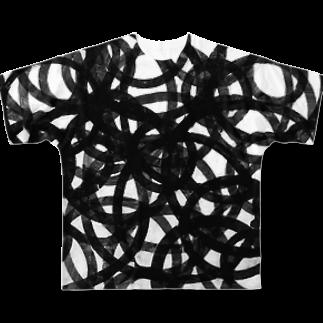 omuramの雑交モノ Full graphic T-shirts