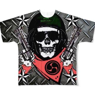鋼鉄兵士 Full graphic T-shirts