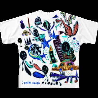 伊敷トゥートのMUGEN!!!フルグラフィックTシャツ