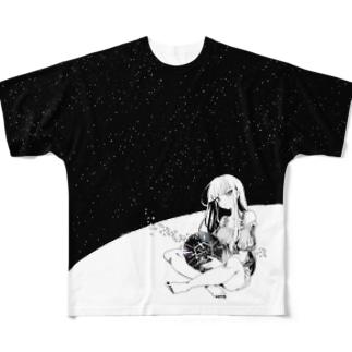 プラネタリウム フルグラフィックTシャツ
