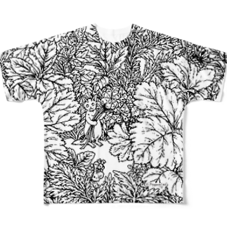PygmyCat suzuri店のPygmyCatTシャツ02 Full graphic T-shirts