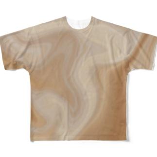Pink Shell フルグラフィックTシャツ