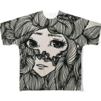 素敵な女史 Full graphic T-shirts