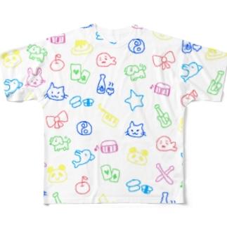 かいかい Full graphic T-shirts