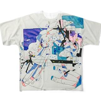 いつかなんてこない フルグラフィックTシャツ
