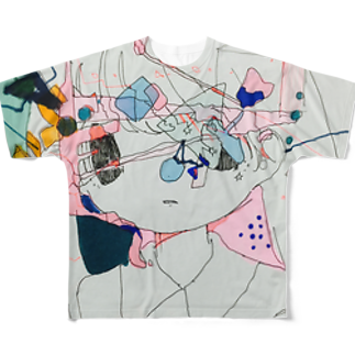 すいぞくかんの□△?〇 フルグラフィックTシャツ