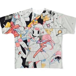 無題 フルグラフィックTシャツ