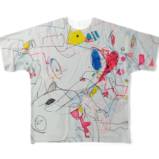 sss フルグラフィックTシャツ