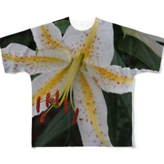 ヤマユリ Full graphic T-shirts