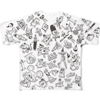 MOTTAINAI KINGDOM Full graphic T-shirts