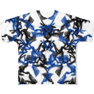 H-b Full graphic T-shirts