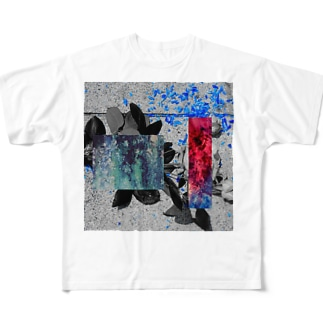 モザイク Full graphic T-shirts