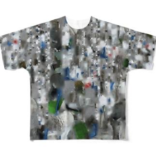 Examples - Texture image for 3D model (.jpg, XL) フルグラフィックTシャツ