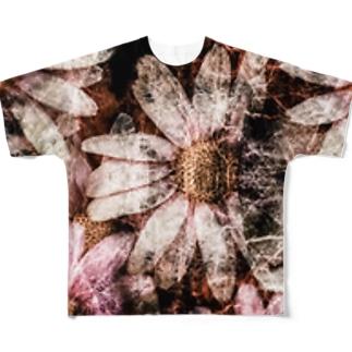 コスモスと夜。 Full graphic T-shirts