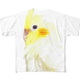 オカメインコ Full graphic T-shirts