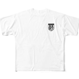 NPO法人デジタルウェルネス Full graphic T-shirts