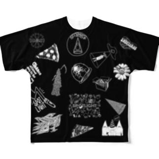SPOTLIGHT フルグラフィックTシャツ