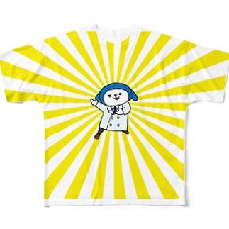 パタン博士「参上SP!」 Full graphic T-shirts