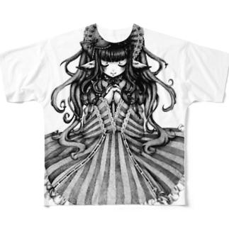 点描 Full graphic T-shirts
