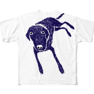 ラブラドール フルグラフィックTシャツ