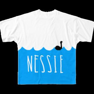 ネッシーTシャツ フルグラフィックTシャツ